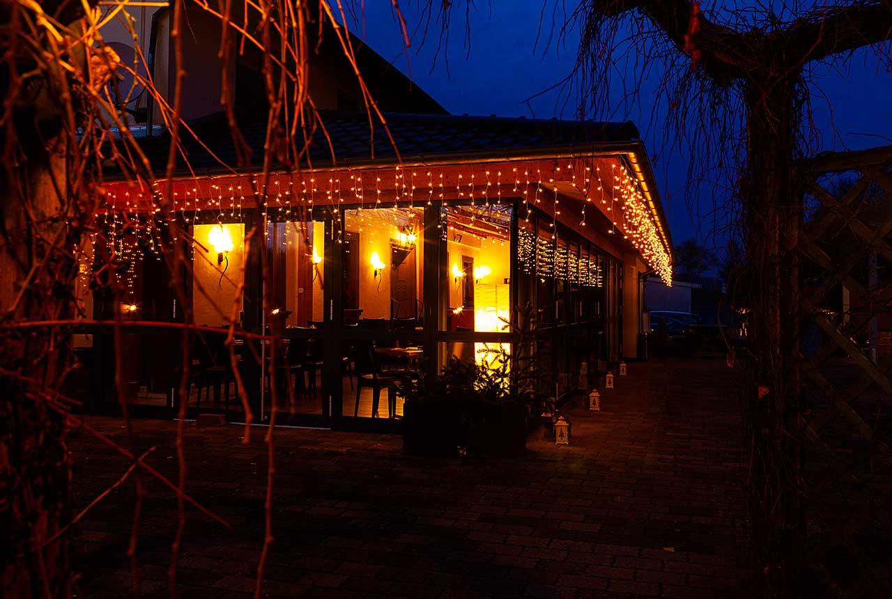 Hotel und Restaurant Pfeifertal Restaurant Wintergarten Winter